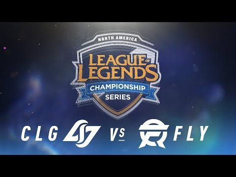 CLG vs. FLY - Week 3 Day 2 | NA LCS Spring Split | Counter Logic Gaming vs. FlyQuest (2018)