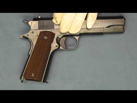 Colt's Model 1911 to 1911A1 .45 ACP Transition Pistol