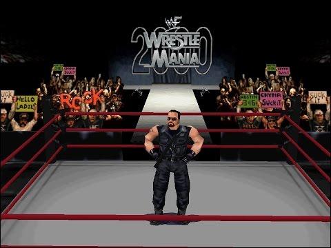 N64 WWF Wrestlemania 2000 - Big Boss Man vs The Godfather