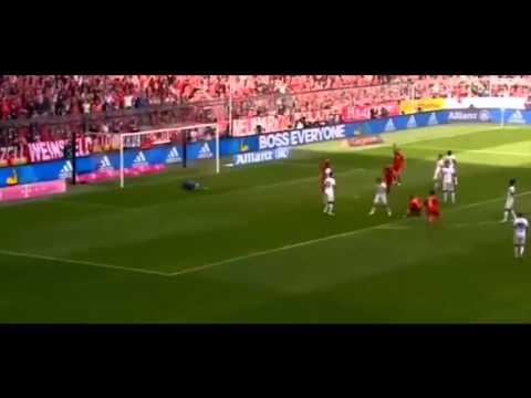 Franck Ribery AMAZING BICYCLE GOAL Bayern Munich - Eintracht Frankfurt 1-0 02.04.2016