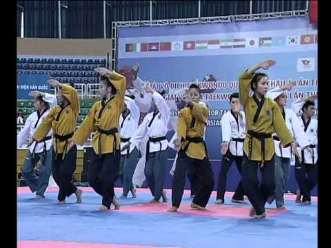 Taekwondo Demo at Asian Taekwondo Championships 2012