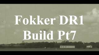 DW Hobby Fokker DR1 build Pt7 RC Model Geeks