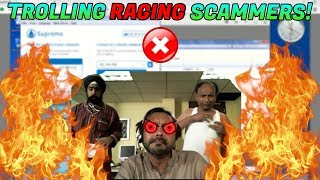 TROLLING RAGING REFUND SCAMMERS!