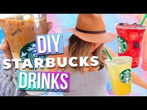DIY Starbucks Drinks For Summer! 3 Drink Ideas!