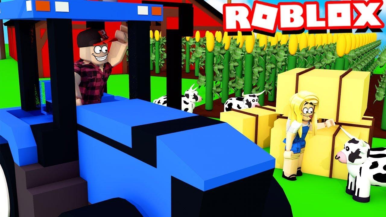 JESTEMY FARMERAMI W ROBLOX Roblox Farming Simulator