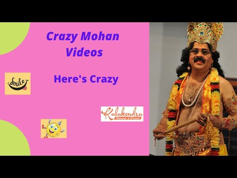 Crazy Mohan Here's Crazy video