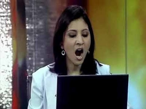 NDTV Bloopers 2006: Err, rolling?