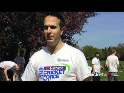 Cricket World® TV - Michael Vaughan Interview