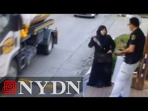 Video captures moment Palestinian woman stabs Israeli guard