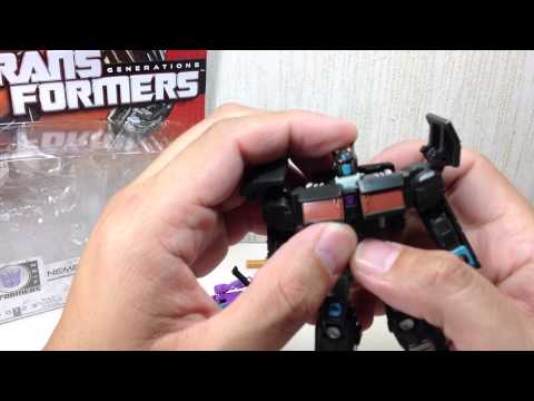 Nemesis Prime & Spinister Transformers Generations Legends 2 pack Toy Review