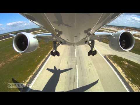 PilotsEYE.tv - HKG - Hong Kong - Boeing 777F - AeroLogic - Cargo -