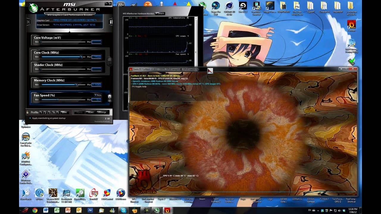how to set das with amd graphics card as default