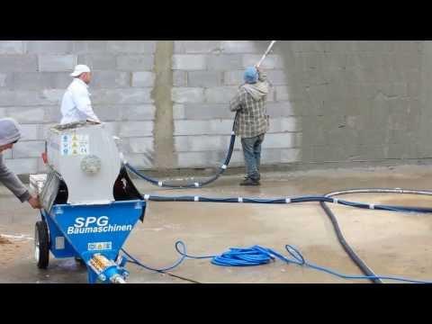 PG 50 Tynkowanie maszynowe, tynk tradycyjny cementowo wapienny, natrysk szprycy szprycowanie