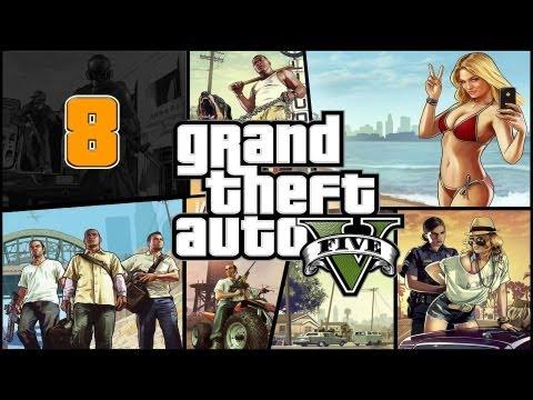 Прохождение Grand Theft Auto V (GTA 5) — Часть 8: Стрельбище / Ночные гонки (Посменная работа)