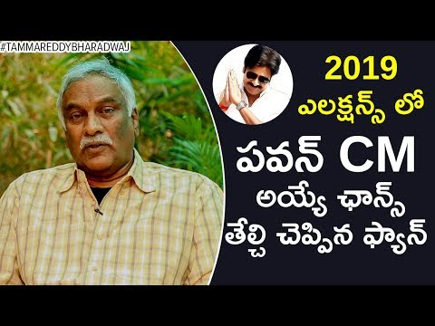 Will Pawan Kalyan Become the CM of AP in 2019? | Tammareddy about Chandrababu Naidu & BJP