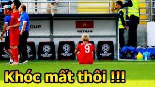 ĐT Việt Nam VS Iran khoảng khắc Công Phượng Văn Toàn Đặng Văn Lâm Quang Hải tri ân CĐV Asian Cup
