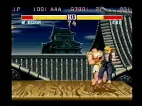 Street Fighter 2 CE Tournament Video