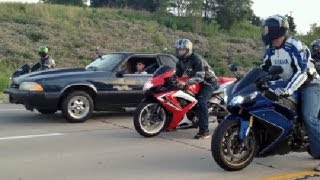 Beater Bomb 5 3l 500hp Fox Vs R1 Vs Zx10r Vs Gsxr600 Amp More