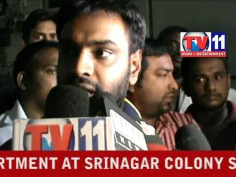 VISHNU VARDHAN REDDY MLA SURPRISE VISIT  AT SRINAGAR N ON 11TH JAN 2013