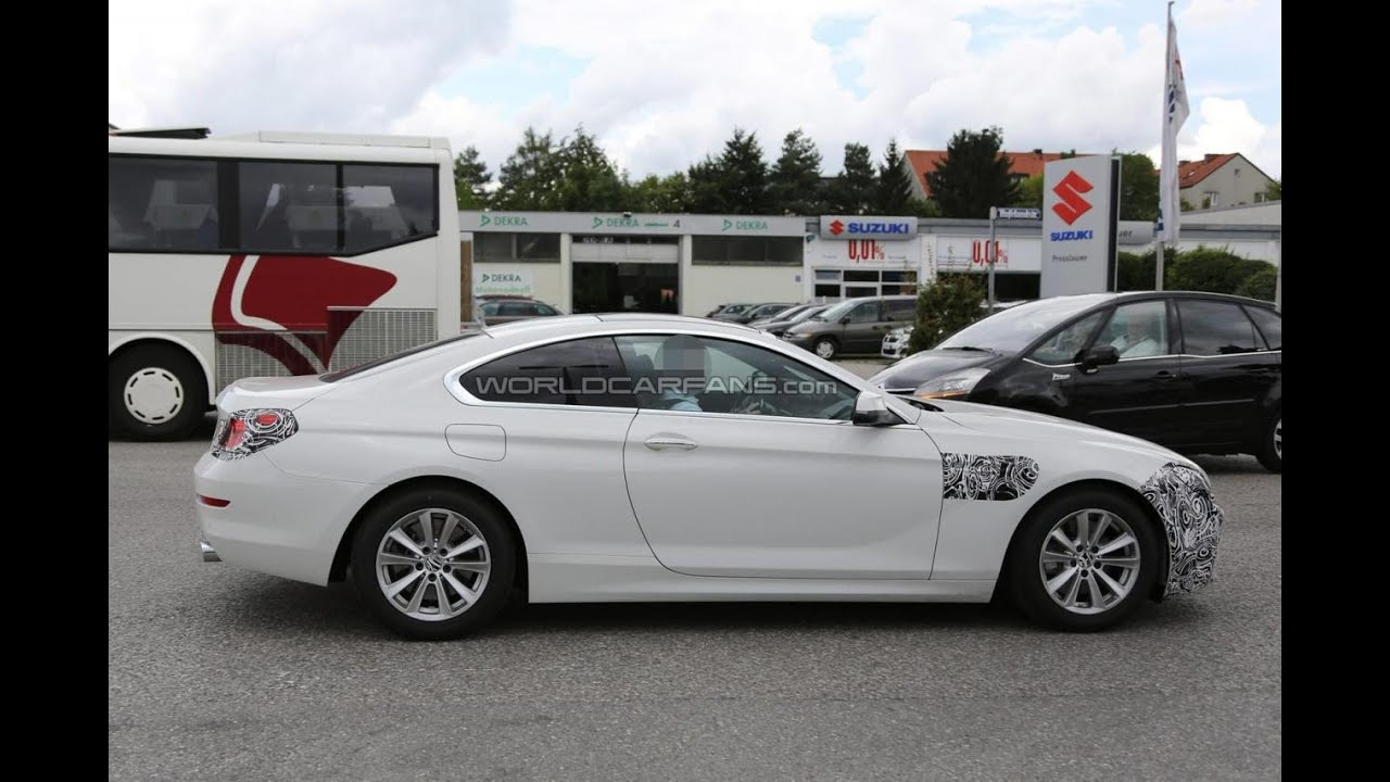 2016 bmw 6 series coupe and grancoupe facelift spied for the first time youtube