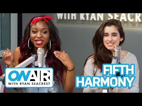Fifth Harmony Obsessed with Chris Brown | On Air with Ryan Seacrest