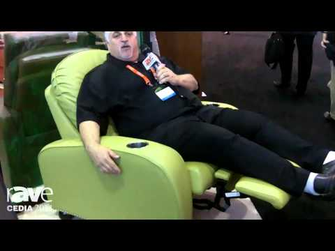 CEDIA 2014: Acoustic Innovations Shows Off Lauren Home Theater Chair