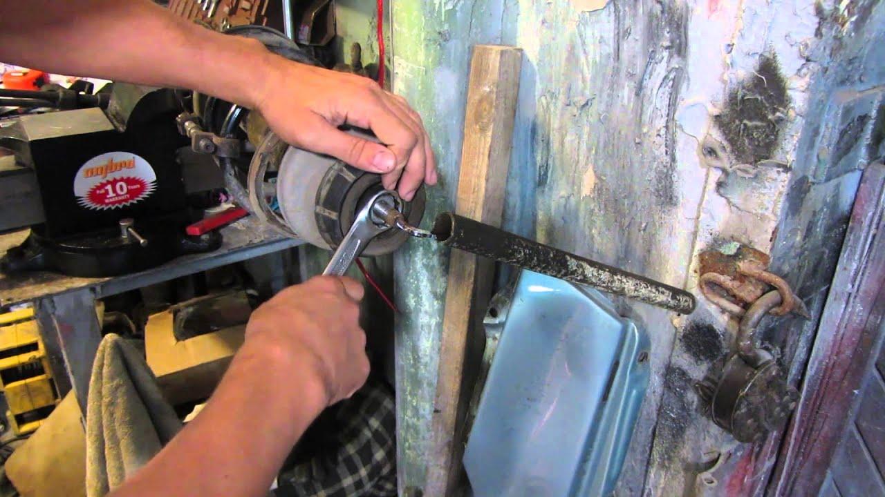 Замена опорного подшипника на рено логан своими руками 42
