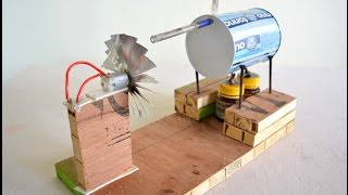 Download How to make Steam Power Generator - a cool science project with easy way 3Gp Mp4