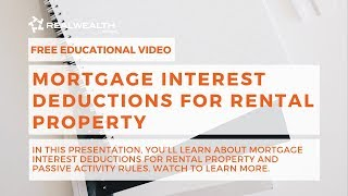 Mortgage Interest Deductions for Rental Property