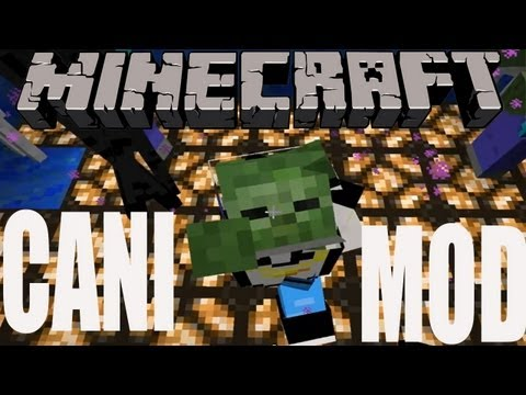 Minecraft 1.3.2 Review CANI MOD!