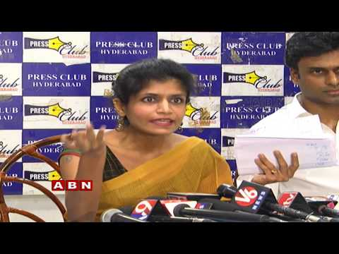 Telangana lawyer Rachana Reddy Press Meet | Hyderabad | ABN Telugu