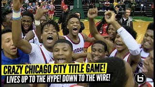 CRAZY Chicago City Title Game! Underrated Curie HS Makes History! HUGE COMEBACK vs Morgan Park!