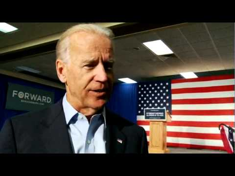 Vice President Joe Biden - Iowa Starts Voting Early on September 27th