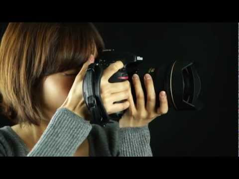 How to Install NIKON Edition Herringbone Heritage Leather Hand Strap on Nikon D4