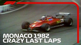 Crazy Final Three Laps in Monaco! | 1982 Monaco Grand Prix