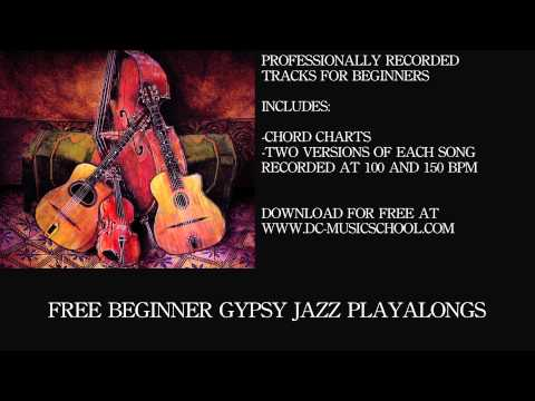Beginner Gypsy Jazz Playalong - Lulu Swing