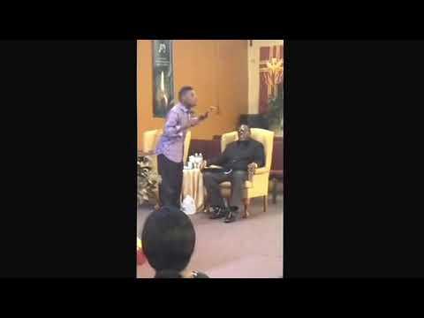 Prophet Marcus Thomas preaching,