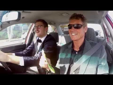 Guy Williams gets driving lessons