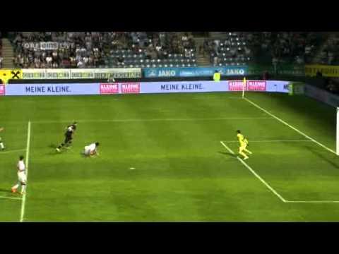 3. Qualifikationsrunde - Rückspiel // 3.8.2011 Roman Kienast 1:0 (68.) Sturm ist mit einem Gesamtscore von 2:1 weiter und steigt damit ins Champions League-Play-Off auf!