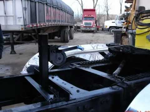 Fifth Wheel Wrecker Boom Tow Bar Youtube