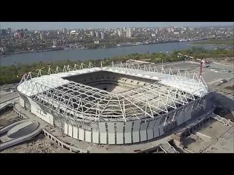 Rostov on Don - Estadio en construcción / Rostov on Don stadium