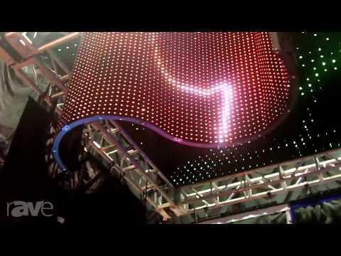 InfoComm 2013: PixelFlex Details its LED Curtain