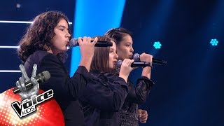 Latif, Anna & Soraya - 'Only Girl' | The Battles | The Voice Kids | VTM