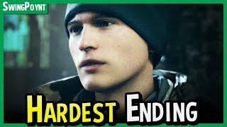 Detroit Become Human HARDEST Ending - Be Connor On Jericho Instead of Markus + No Hank at CyberLife