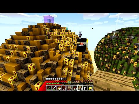 Minecraft - BOLA DE LUCKY BLOCK OURO!! - PVP MINI GAME