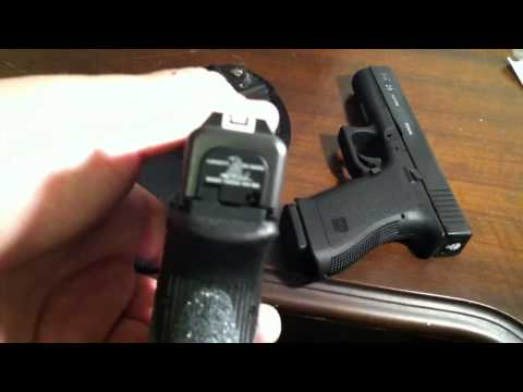 Glock Talon Grips and new slide back plates