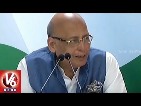 Congress Leader Abhishek Manu Singhvi: Simultaneous Polls Proposal is Anti-democracy | V6 News
