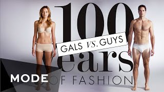 100 Years of Fashion: Gals vs. Guys ? Glam.com