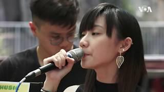 《愿荣光归香港》词曲道出示威者心声