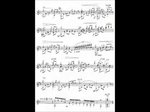 HOÀI CẢM (Cung Tiến) - Võ Tá Hân chuyển soạn & độc tấu guitar